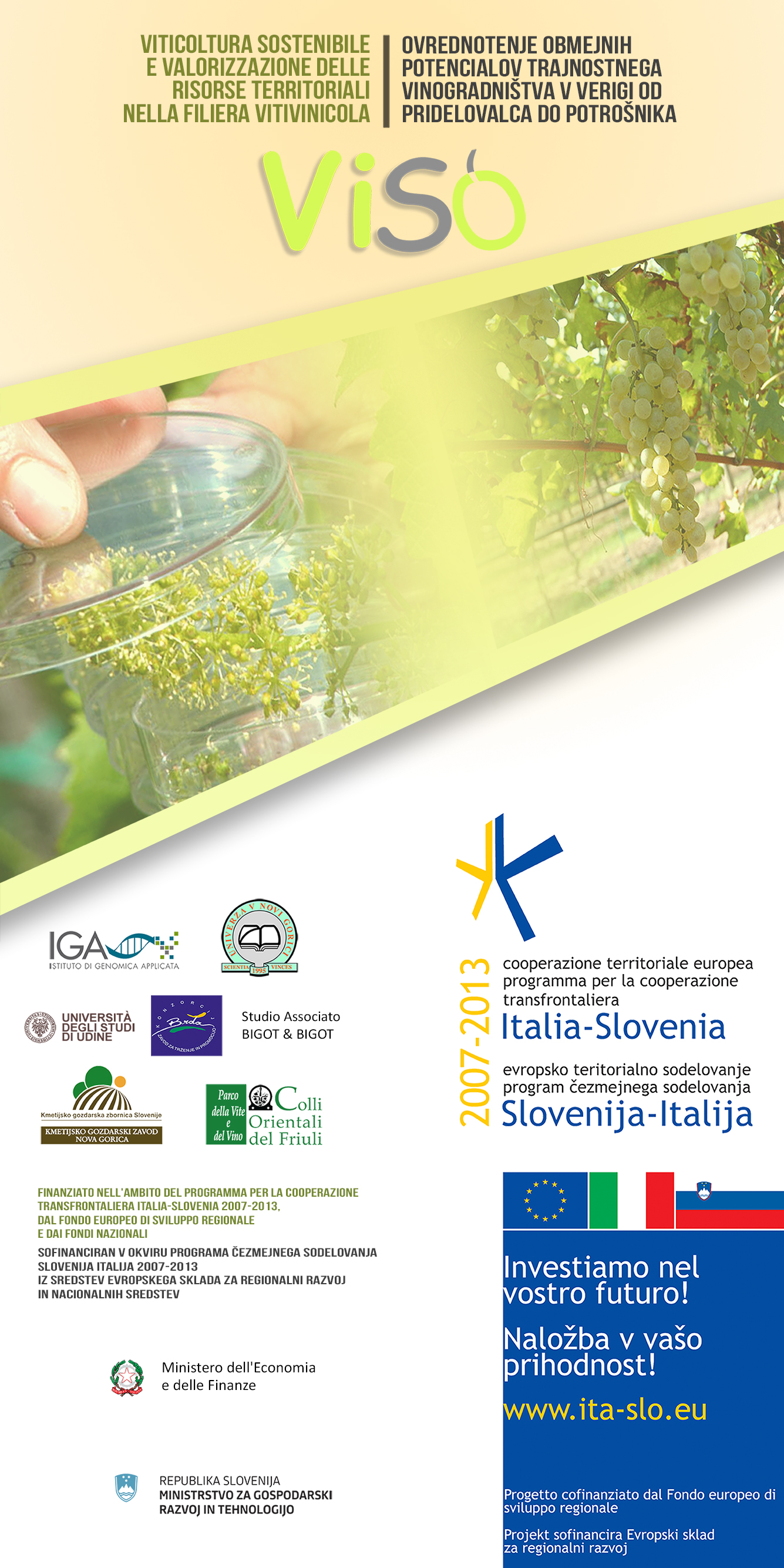 VISO (Sustainable Viticulture): the final conference